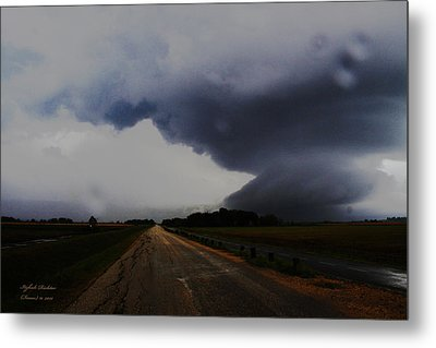 Metal Print featuring the photograph Storm by Itzhak Richter