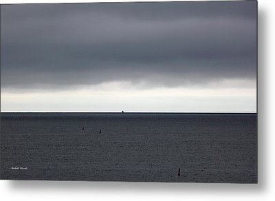 Storms Ahead Metal Print by Michelle Wiarda