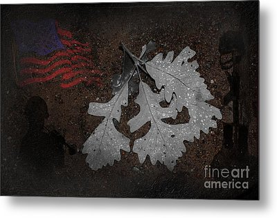 Storms Metal Print by The Stone Age