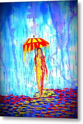 Stormy Mood 2 Metal Print by Connie Valasco