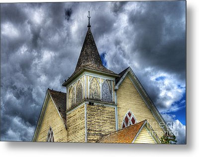 Stormy Times Metal Print by Bob Christopher