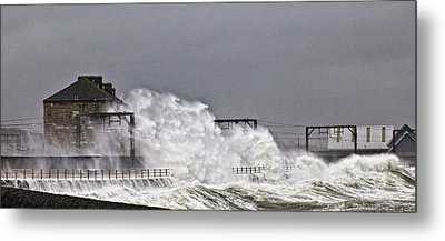 Stormy Weather Metal Print by Fiona Messenger