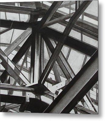 St.pancras  Metal Print by Drew  Ward