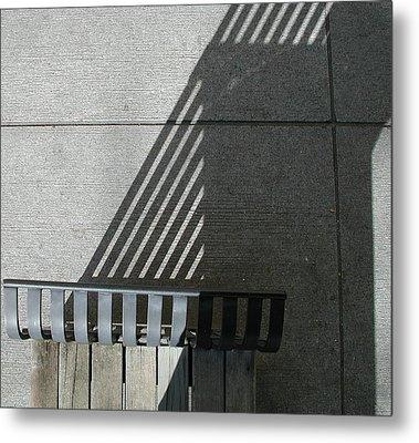 Straight Curves Metal Print
