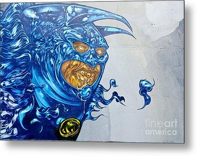 Strange Graffiti Creature Metal Print by Yurix Sardinelly