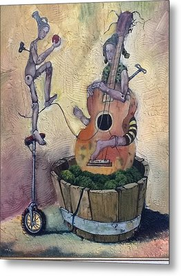 Strange Melody For A False Event Metal Print by Carlos Rodriguez Yorde