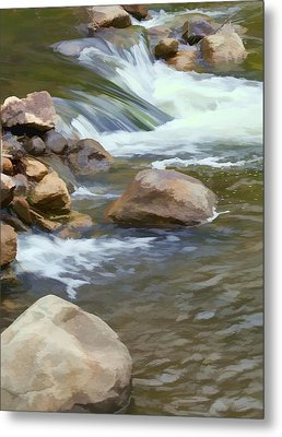 Metal Print featuring the photograph Stream by John Crothers