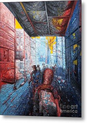 Street 2 Metal Print by Bekim Mehovic