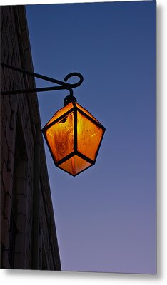 Street Light Metal Print by Amr Miqdadi