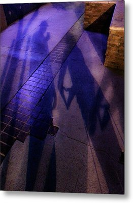 Street Shadows 004 Metal Print