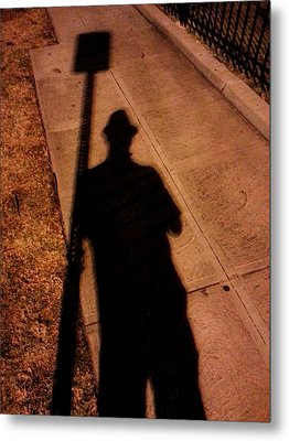 Street Shadows 008 Metal Print