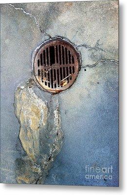 Streets Of La Jolla 7 Metal Print by Marlene Burns