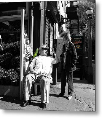 Streets Of New York 8 Metal Print by Andrew Fare