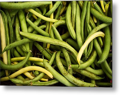 String Beans Metal Print by Tanya Harrison