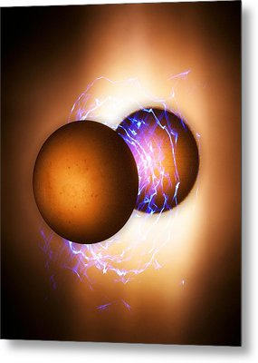 Strong Nuclear Force Metal Print by Richard Kail
