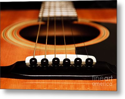 Strum Front Metal Print by Andee Design