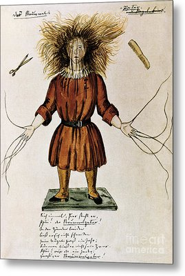 Struwwelpeter Metal Print by Photo Researchers