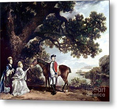 Stubbs Pocklington 1769 Metal Print by Granger