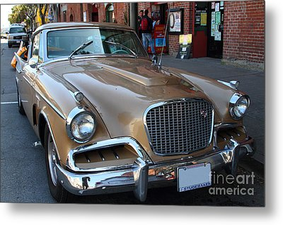 Studebaker Golden Hawk . 7d14179 Metal Print by Wingsdomain Art and Photography