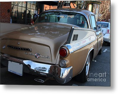 Studebaker Golden Hawk . 7d14182 Metal Print by Wingsdomain Art and Photography