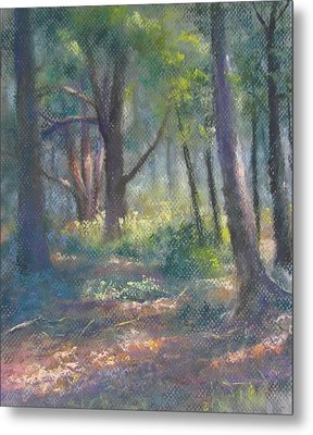 Study For Woodland Interior Metal Print