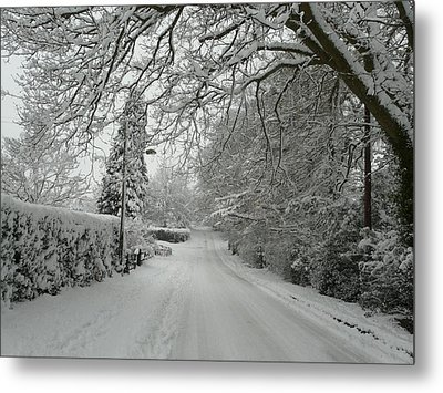 Sugar Road II Metal Print by Rdr Creative