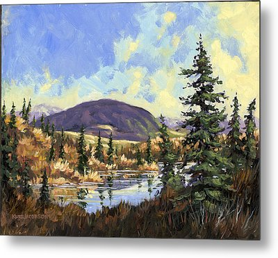 Metal Print featuring the painting Sugarloaf Mountain by Kurt Jacobson