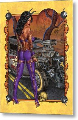 Suicide Dream Metal Print by Greg Andrews