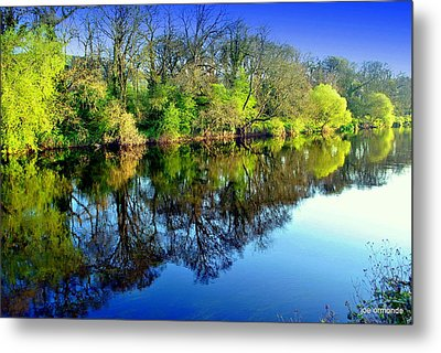 Suir Reflections Metal Print