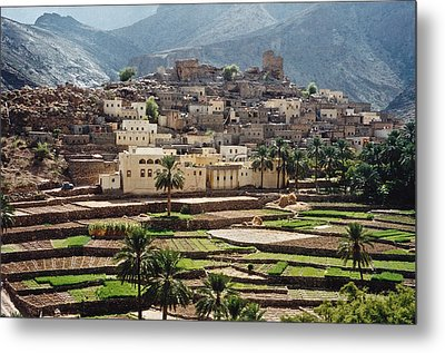 Sultanat D'oman Metal Print by Micheline Canal