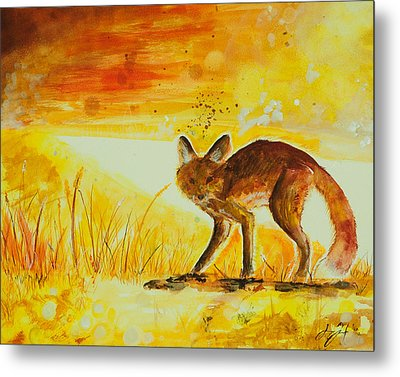 Summer And Autumn  Metal Print by Sydney Gregory