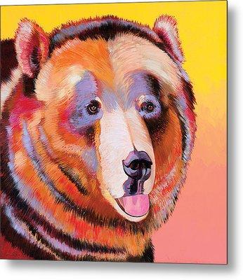 Summer Bear Metal Print by Bob Coonts