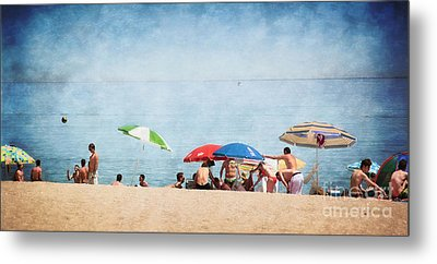 Summer By The Sea Metal Print by Mary Machare