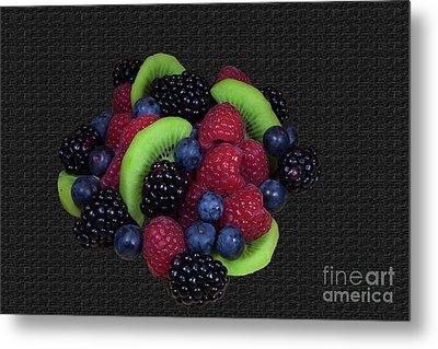 Summer Fruit Medley Metal Print by Michael Waters
