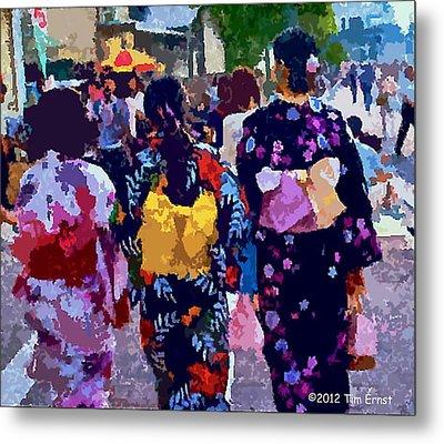Summer In Japan Metal Print by Tim Ernst
