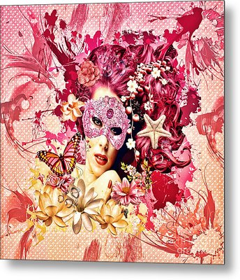 Summer Metal Print by Mo T