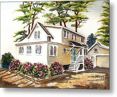 Summer Place Metal Print by Andrea Timm