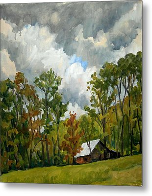 Summer Sky Metal Print by Thor Wickstrom