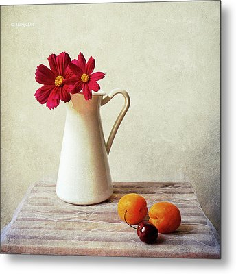 Summer Still Life Metal Print by by MargoLuc