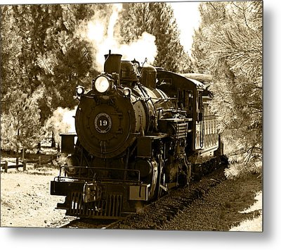 Sumpter Rr Engine 19 Metal Print