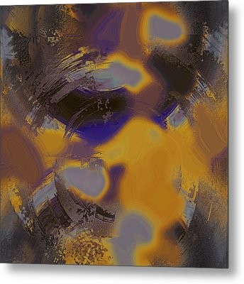 Sun Burnt Metal Print by Yanni Theodorou