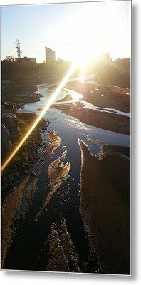 Sun Ray Metal Print by David Alvarez