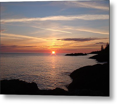 Metal Print featuring the photograph Sun Up On The Up by Bonfire Photography