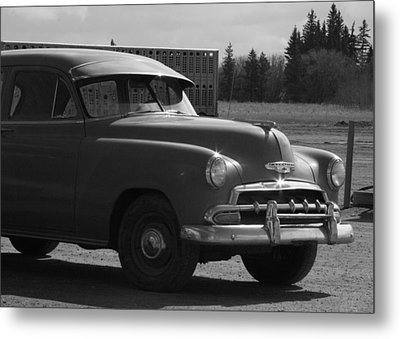 Sunday Drive Metal Print by Ellery Russell
