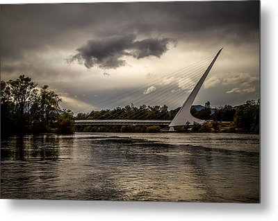 Metal Print featuring the photograph Sundial Bridge - 1 by Randy Wood