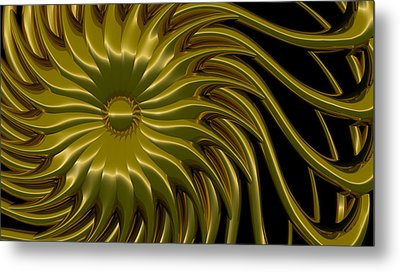 Sunflower Metal Print by Richard Rizzo