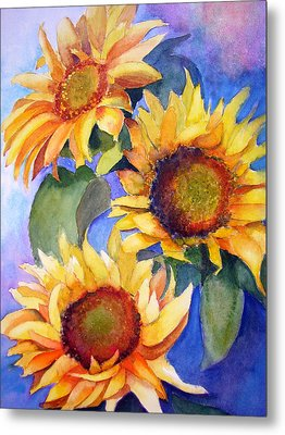 Sunflowers Metal Print by Lori Chase