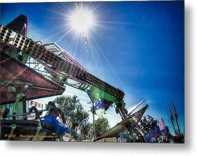 Sunny At The Fair Metal Print by Dan Crosby