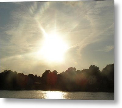 Sunny Beams Metal Print by Brityn Klehr