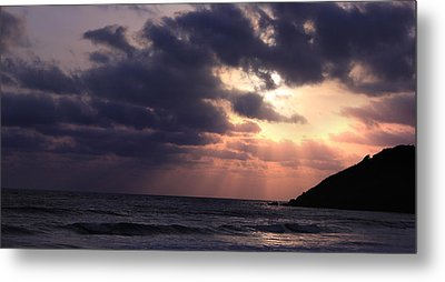 Sunrays From Heaven Metal Print